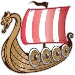 Vikingetiden i Danmark - vikinger vikingeskibe vikingeborge vikingetogter vikingespil runer