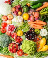 Spis årstidens frugter og grøntsager