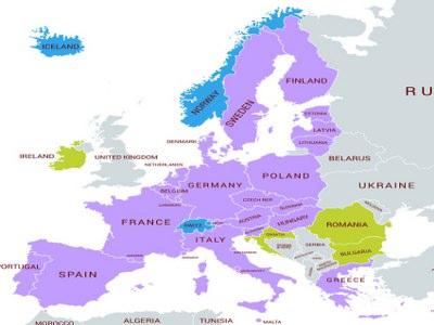 Europas geografi