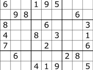 Sudoku - spil sudoku online
