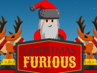 Hjælp Den Rasende Julemand - Sjovt Julespil