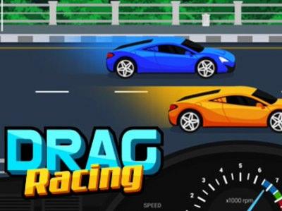 Drag Racing - Sjovt Bilspil