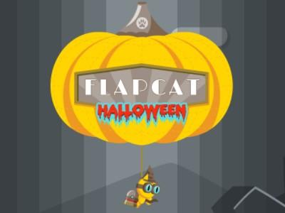 FlapCat Haloween - Sjovt Uhyggeligt Online Spil