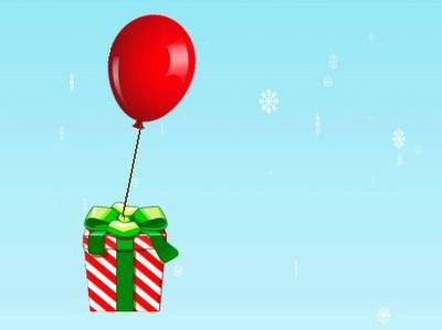 Red Julegaverne Fra At Flyve Væk - Sjovt Julespil
