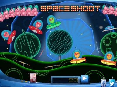 Space Shoot - Skyd Rumvæsener