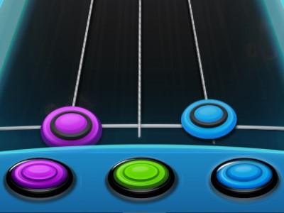 Guitar Hero - Sjovt Online Reaktionsspil