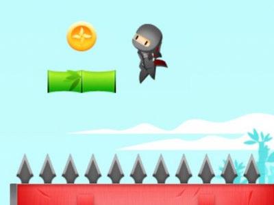 Ninja Jump Force - Sjovt Eventyrspil