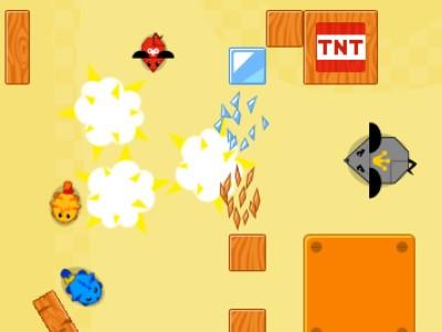 Katte Mod Robotmus - Sjovt Online Actionspil