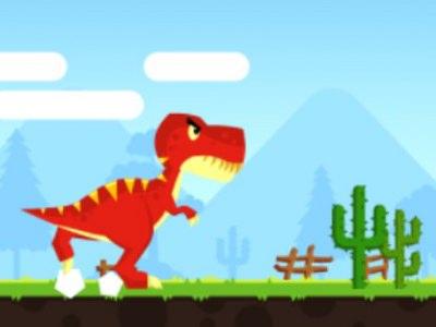 T-Rex Runner - Sjovt Actionspil