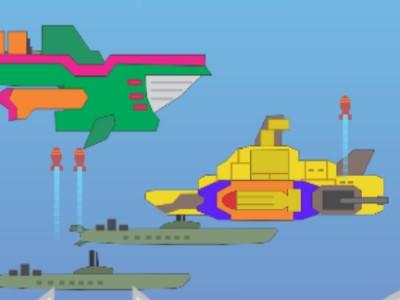 Ubådskrig - Sjovt Skydespil