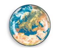 Verdensur og tidszoner vist online på flot verdenskort