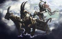 Den nordiske og græske mytologi - asatro islandske sagaer heksejagt