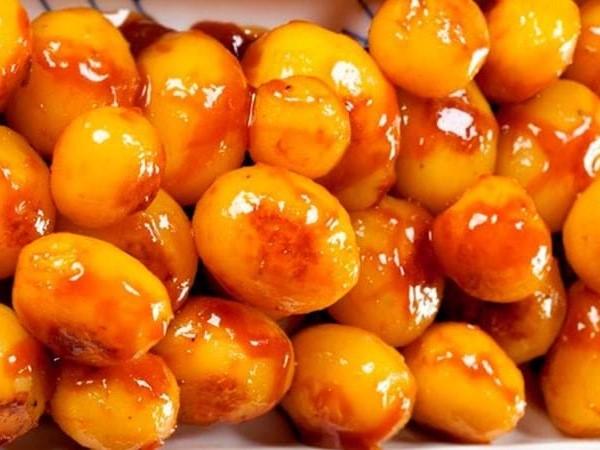 Julemad - Brunede Kartofler