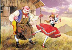 De røde sko, eventyr af H. C. Andersen
