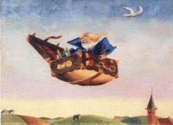 Den flyvende kuffert - eventyr af H.C. Andersen