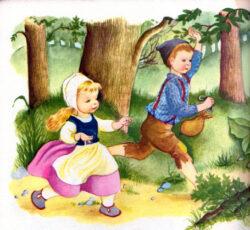 Hans og Grete - eventyr af brødrene Grimm