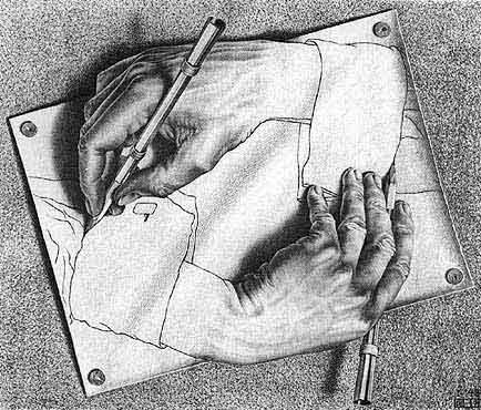 illusioner og synsbedrag - hvem tegner hvem?
