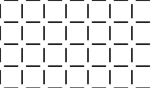 illusioner og synsbedrag - firkanter eller cirkler