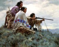 Nordamerikanske indianerstammer apache sioux comanche cherokee