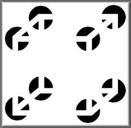 illusioner og synsbedrag - den usynlige terning