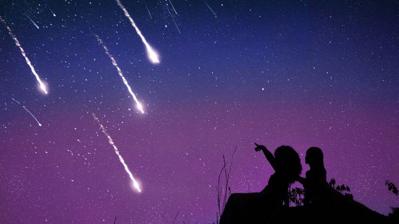 Når du ser et stjerneskud, tekst og melodi