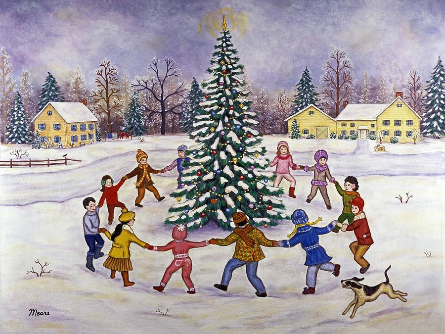 Rocking around the Christmas tree, tekst og melodi